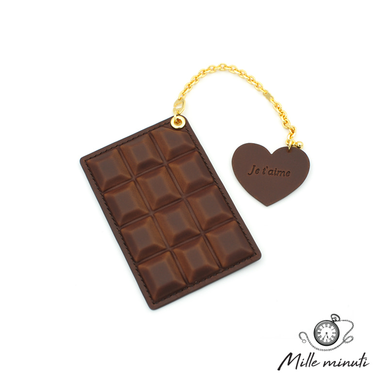 [milleminuti] chocolate card case